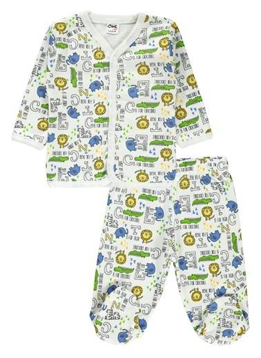 Civil Baby Pijama Takım Ekru